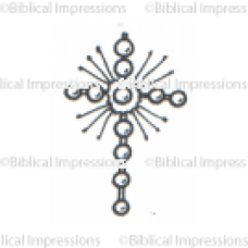 Graphic Cross Unmounted Stamp