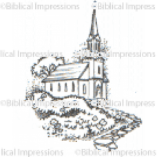 Church Unmounted Stamp