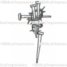 Cross Nails Unmounted Stamp