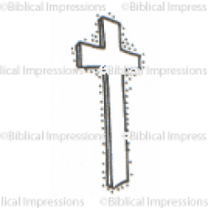 Perspective Cross Unmounted Stamp