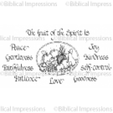 (418)  Fruit of the Spirit Set 2 Unmounted Stamp