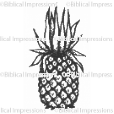 Pineapple Unmounted Stamp