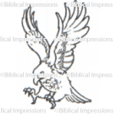 Eagle Unmounted Stamp
