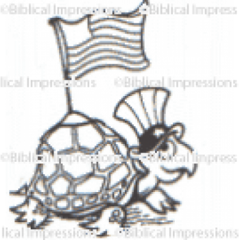 Turtle Unmounted Stamp