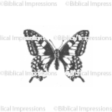 Med Butterfly Unmounted Stamp
