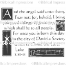 Luke 2 1011 Unmounted Stamp