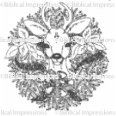 Wreath Unmounted Stamp