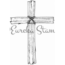 Sm Wooden Cross Stamp