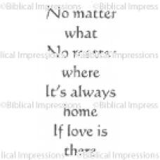Always Home Unmounted Stamp