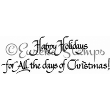 All the Days of Christmas Stamp