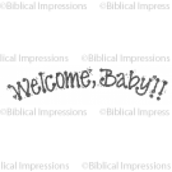 Welcome Unmounted Stamp