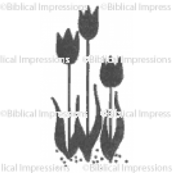 (435)  Tulips Unmounted Stamp