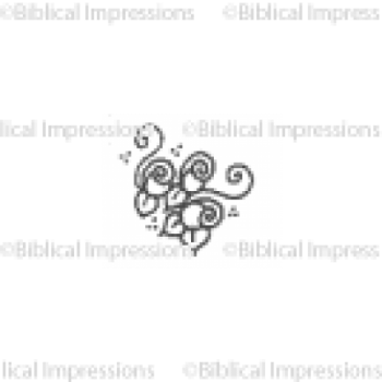 Small Roses Unmounted Stamp