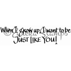 When I Grow Up Stamp