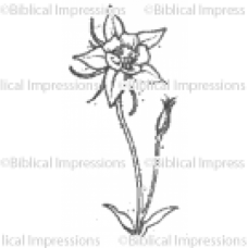 Tiny Dragonfly Unmounted Stamp