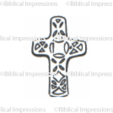Ornate Cross Unmounted Stamp
