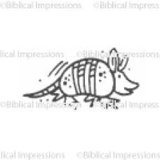 Armadillo Unmounted Stamp