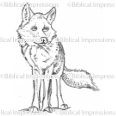 Wolf Unmounted Stamp