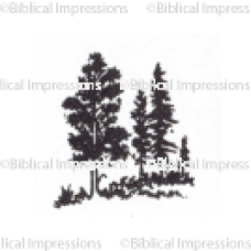 Trees Unmounted Stamp