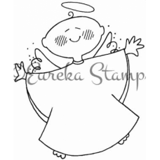 Baby Angel Stamp