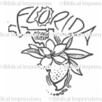 Florida Unmounted Stamp