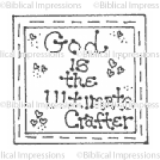Ultimate Crafter Unmounted Stamp