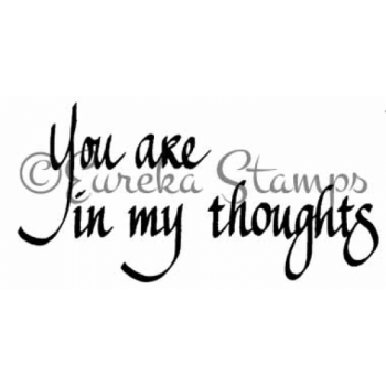 In My Thoughts Stamp