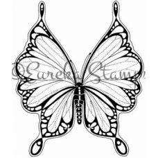 Large Lacy Butterfly Stamp