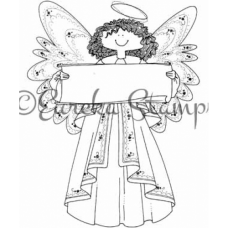Banner Angel Stamp