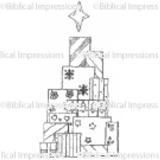Tree of Presents Unmounted Stamp