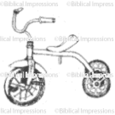 Tricycle Unmounted Stamp
