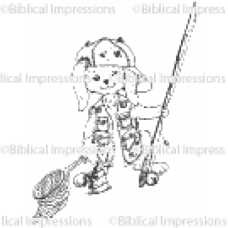 Capper Fishing Unmounted Stamp