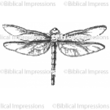 Lg Dragonfly Unmounted Stamp