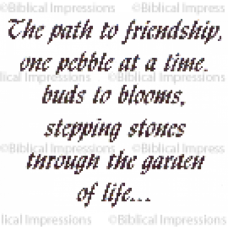 Path to Friendship Unmounted Stamp