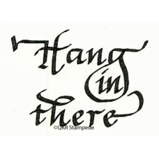 Hang in There Stamp