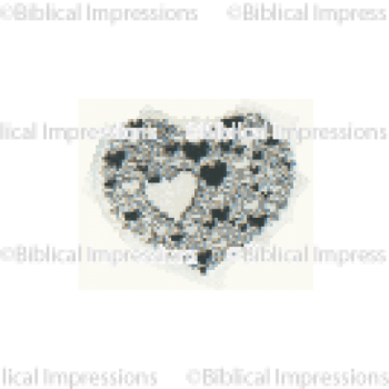 Tiny Heart of Hearts Unmounted Stamp