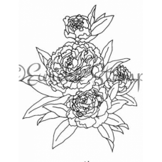 Carnations Stamp