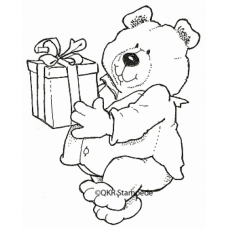 Giving Bear Stamp