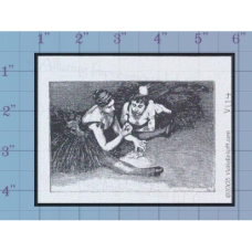 Ballet Dancers Unmounted Stamp
