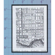 City Map Unmounted Stamp