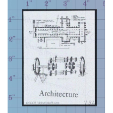 Architecture Unmounted Stamp