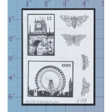 Travel Unmounted Stamp
