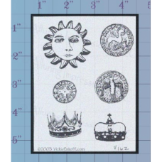 Coins and Crowns Unmounted Stamp