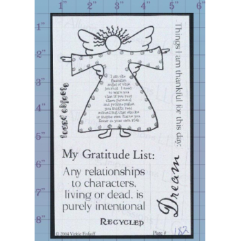 Angel Journal Unmounted Stamp