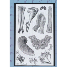 Stockings and Gloves Unmounted Stamp