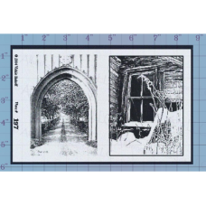 Window Archway Unmounted Stamp