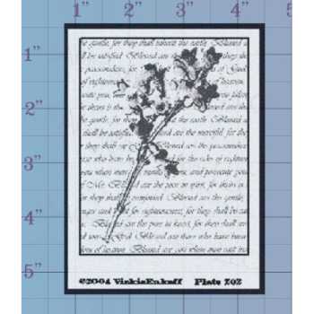 Apple Blossom Collage Unmounted Stamp