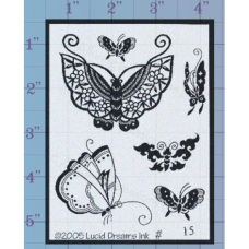 Butterflies Unmounted Stamp