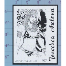 Aztec Maiden Unmounted Stamp