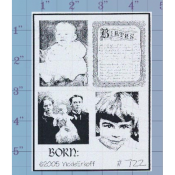 Baby Pictures Unmounted Stamp